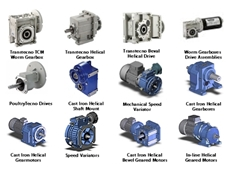 Gearboxes and Drive Assemblies from Chain & Drives