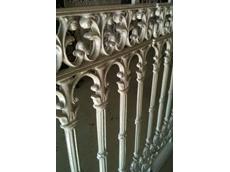 Aluminium lacework balustrade panels