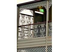 Heritage balustrade V6 panel