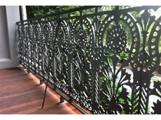 Lacework balustrade