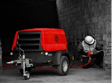 Chicago Pneumatic's Red Rock portable compressor