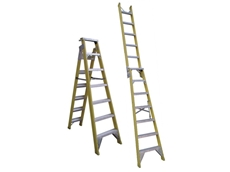Dual purpose ladders available from New Look Innovations (Aust) Pty Ltd