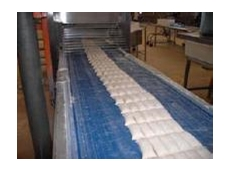 HP Blue Polyurethane conveyor belts