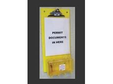 PCB-1 permit control and group lock box board