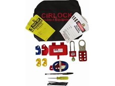 Cirlock Contractor lockout kit with 250 plug lockout device
