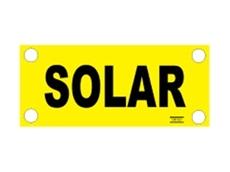 Solar label