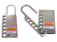 Cirlock SLH-80 stainless steel lockout hasps