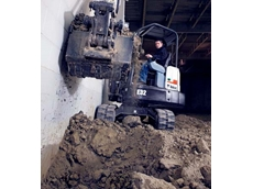 Bobcat M-Series compact excavators available from Clark Equipment
