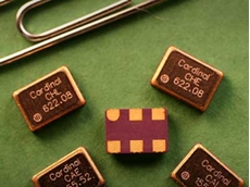 Cardinal Components' CJ Series of high performance factory configurable oscillators