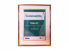 Clean Oil Services is finalist in the 2012 Premier's Sustainability Awards