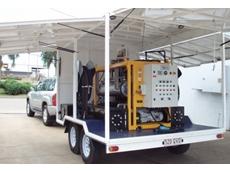 Powermaster cleans transformer oil