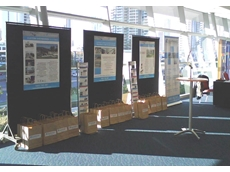 Clearmake display at Marine Industry Innovation Conference