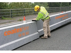 These lightweight steel barriers are quick and easy to transport and install on site