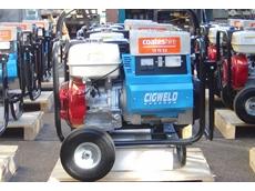Cigweld MPM 5/190H 200 amp petrol-driven mobile welder