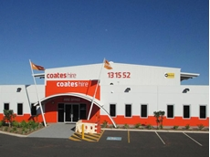 The new Coates Hire Karratha