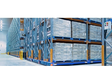 Mobile Pallet Racking by Colby Storage Solutions