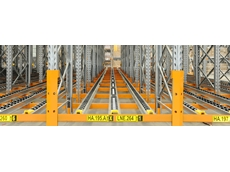 Pallet Live Storage (PLS) from Colby Storage Solutions