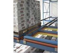 Pushback pallet racking available from Colby Storage Solutions