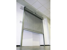 FM1 electrically operated fire curtains are unobtrusive and help to contain a fire
