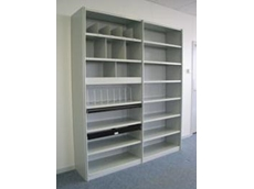 Commando Ezi-Store steel shelving range from Commando Storage Systems