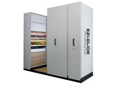 Ezi-Glide Mobile Shelving System from Commando Storage Systems