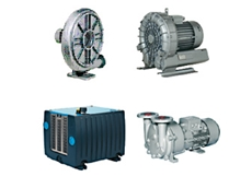 Vacuum Pumps, Vacuum Blowers, Liquid Ring Pumps