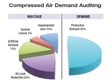 Compressed Air Demand Auditing