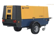 DLT1303 range of portable compressors available from Compair Australasia Ltd