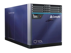 CompAir's new low pressure Q-70L, part of the Quantima range of innovative oil free centrifugal compressors