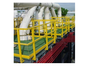 FRP Platforms, FRP Stairs, Elevated Work Platforms and Safety Platforms from Composite Engineering