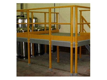 FRP Platforms and stairs can be built to order to meet your specific requirements