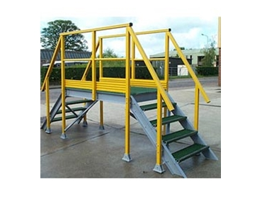 FRP platforms and stairs provide a safe solution for your access requirements