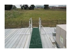 The Grating Company's fibreglass reinforced polyester walkway.