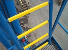 LadderGrip slip resistant ladder rung cover