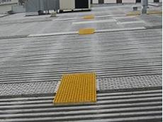 FRP roof walkways