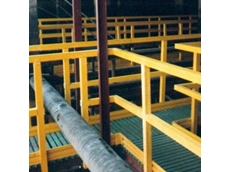 Fibreglass Handrails and Fibreglass Ladders, Ladder Rungs, Industrial Ladders, Guard Rails, Fibreglass Step Ladders, Handrail Access Systems from Composite Engineering