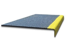 TreadGrip Nosing improves safety by minimising both trip and slip hazards