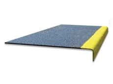 Treadgrip Overlay non slip stair plates add slip resistance to existing stairs