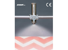 EXAIR's no drip internal mix atomising nozzle