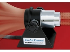 EXAIR Ion Air Cannon designed to neutralise static electricity on bottles and other plastics