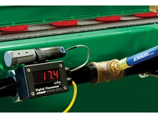 EXAIR's digital flowmeter now comes with USB data logger