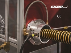 EXAIR's new 360° static eliminator is CE, UL and RoHS certified