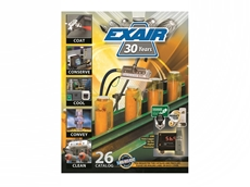 EXAIR's new Catalogue 26 offers even more intelligent compressed air solutions for industry