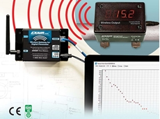 Digital flowmeter with wireless capability for compressed air monitoring