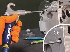 EXAIR's new soft grip back blow safety air guns for narrow diameter pipes