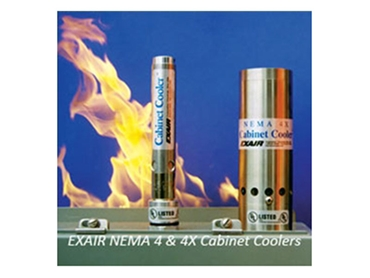 Keep electronics from overheating with EXAIR cabinet coolers from Compressed Air Australia