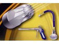 Low consumption, low noise, air nozzles