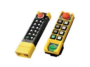 Radio Remote Controls with Emergency Stop (EMS)