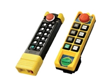 Conductix-Wampfler Radio Remote Controls and Push Button Pendants with Extensive Safety Features
