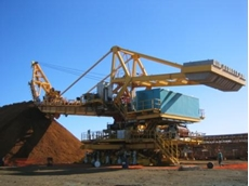 Conductix-Wampfler provide power supply systems for stacker reclaimers used in mining applications